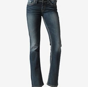 Silver Jeans Jeans - Silver jeans Suki size 26x34 distressed